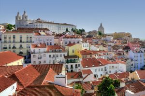Quartier Alfama Lisbonne