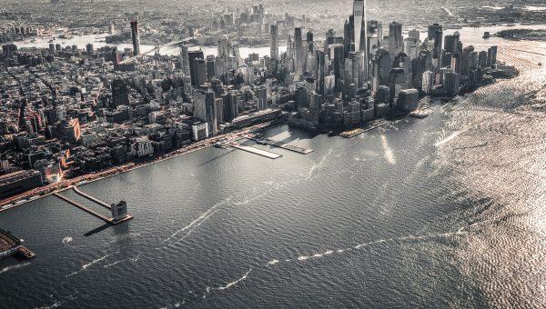 Vues panoramiques à New York: lieux et terrasses