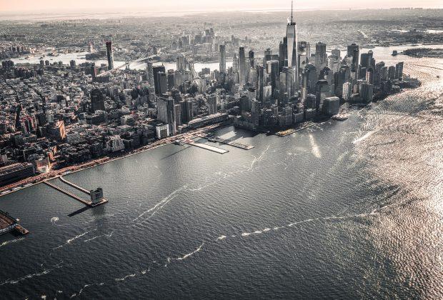 Vues panoramiques à New York